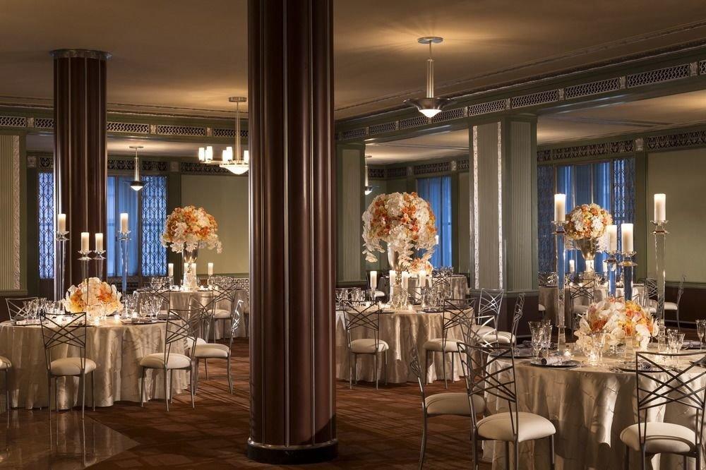function hall wedding ceremony wedding reception lighting ballroom Dining restaurant dining table