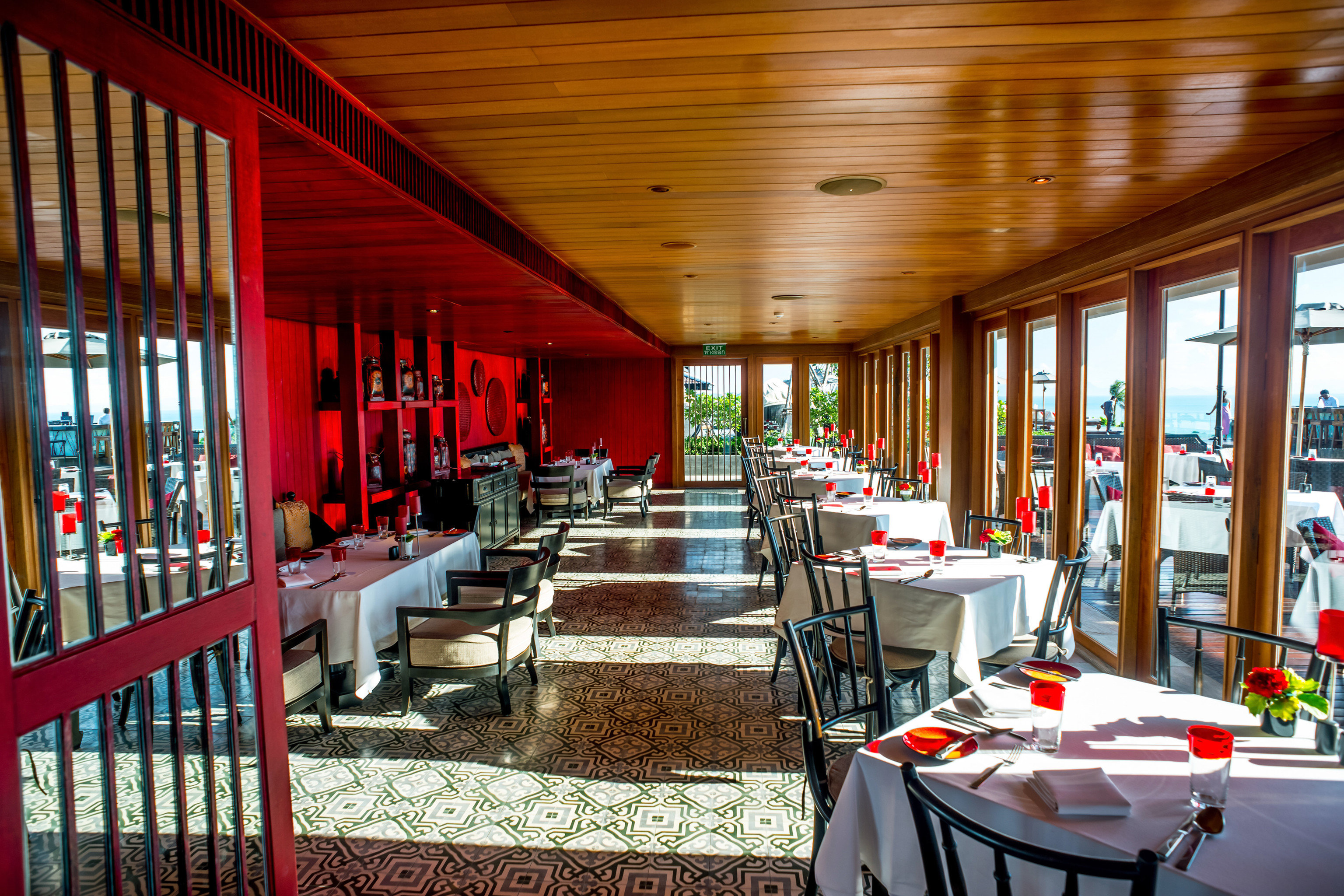 chair building restaurant Dining porch