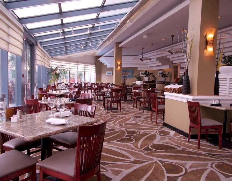 chair Dining restaurant function hall cafeteria café set