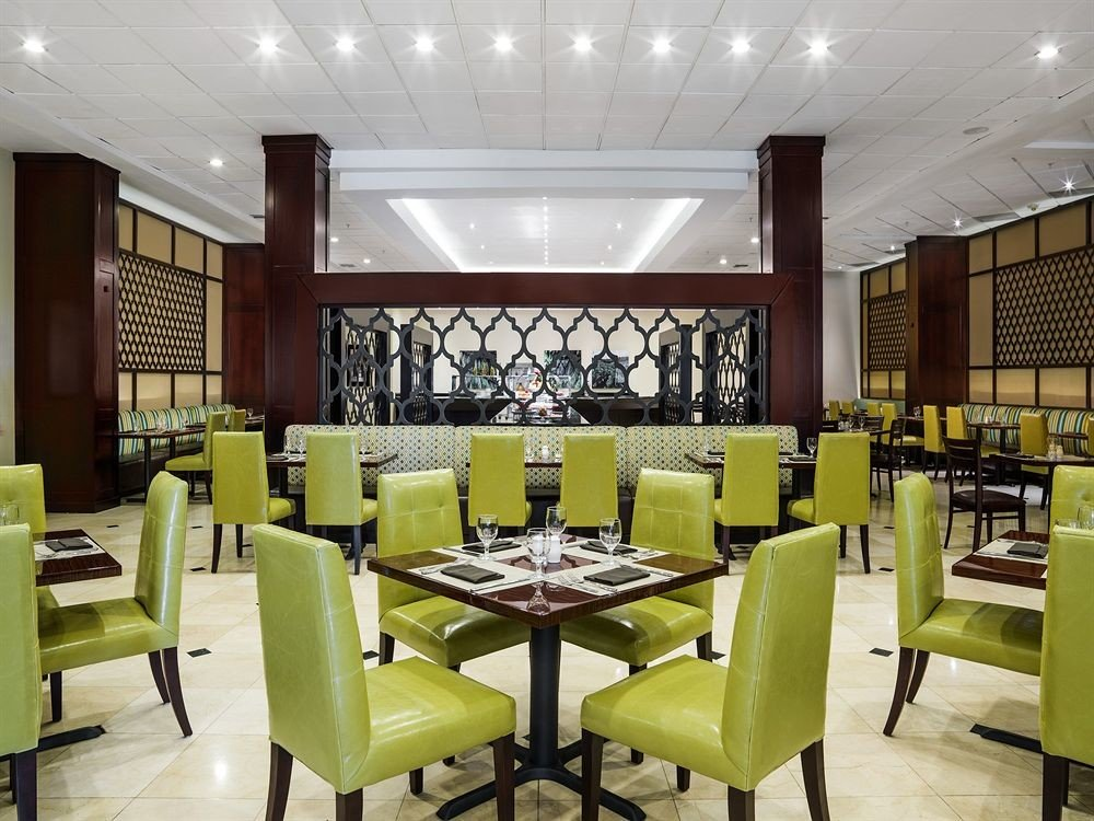 chair restaurant Dining function hall conference hall green cafeteria convention center set