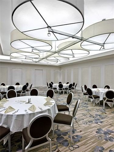chair conference hall function hall convention center restaurant Dining conference room dining table