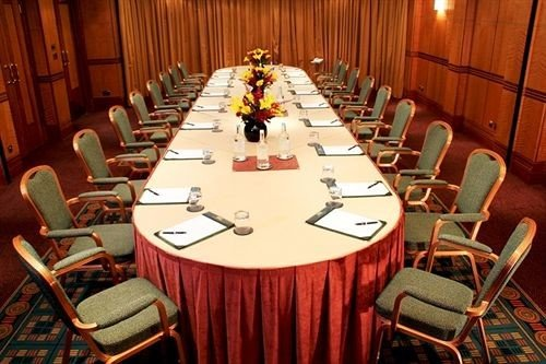 chair Dining function hall conference hall set wooden conference room surrounded