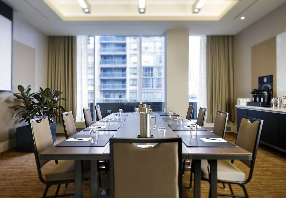 chair property conference hall Dining restaurant dining table