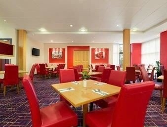 red chair property restaurant function hall conference hall Dining