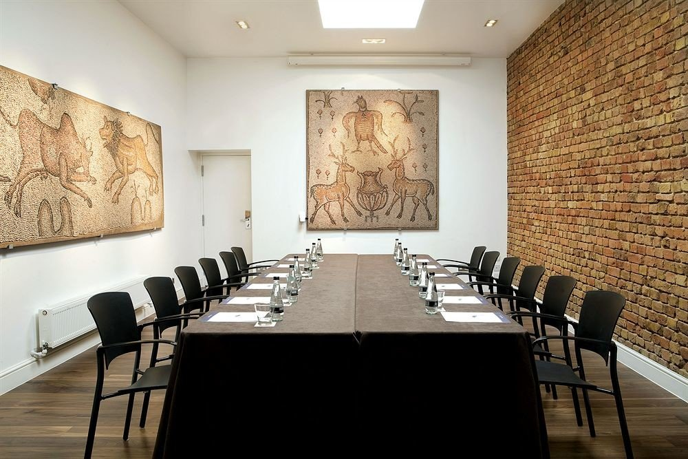 chair conference hall Dining leather stone