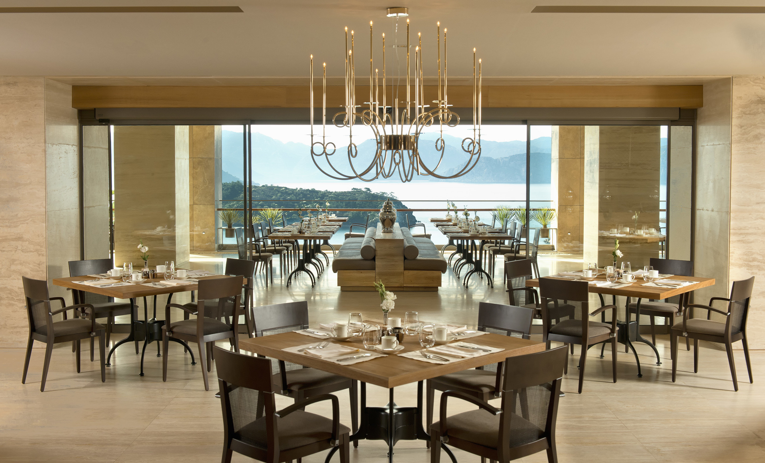 chair property restaurant Dining function hall dining table