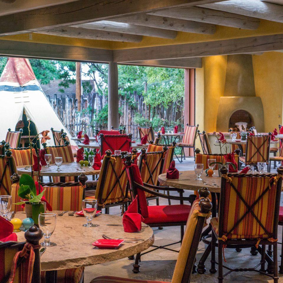 chair Dining restaurant set