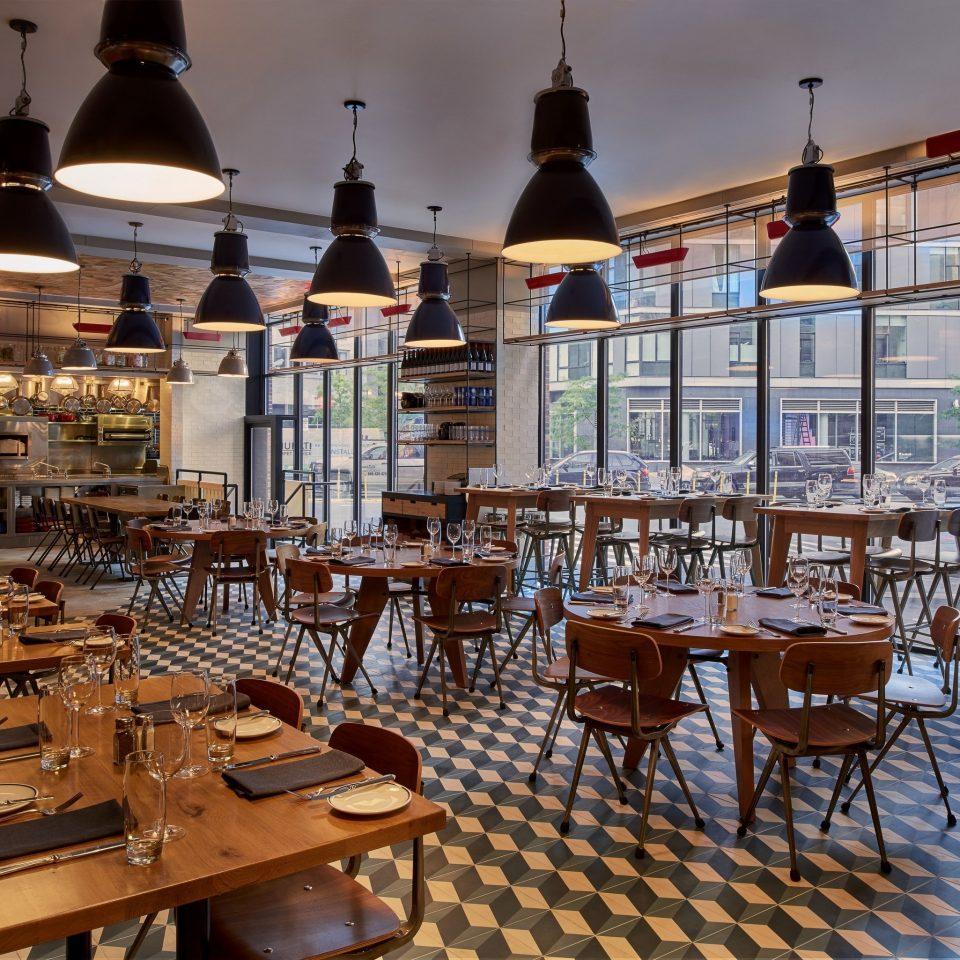 chair restaurant Dining wooden set