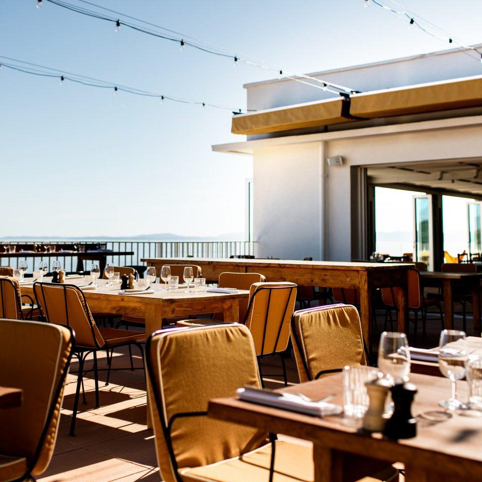 sky chair restaurant Dining