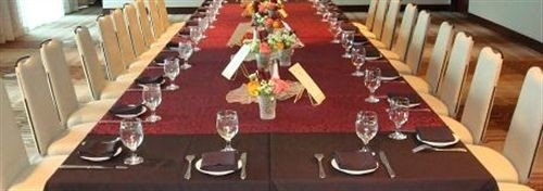 function hall tablecloth restaurant Dining flooring set dining table conference room
