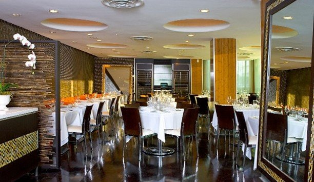 restaurant function hall Dining dining table