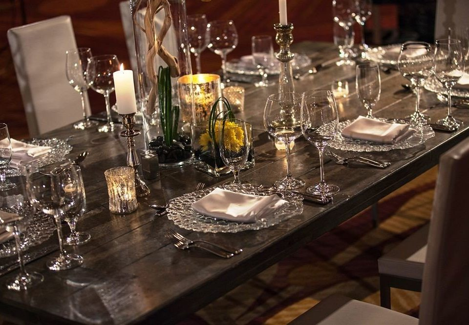 glasses wine centrepiece dinner Dining restaurant banquet wedding reception Drink set dining table