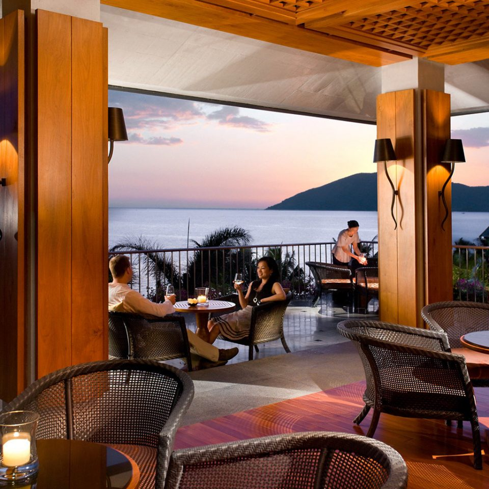 Dining Drink Eat Elegant Family Honeymoon Luxury Romance Waterfront chair restaurant Resort