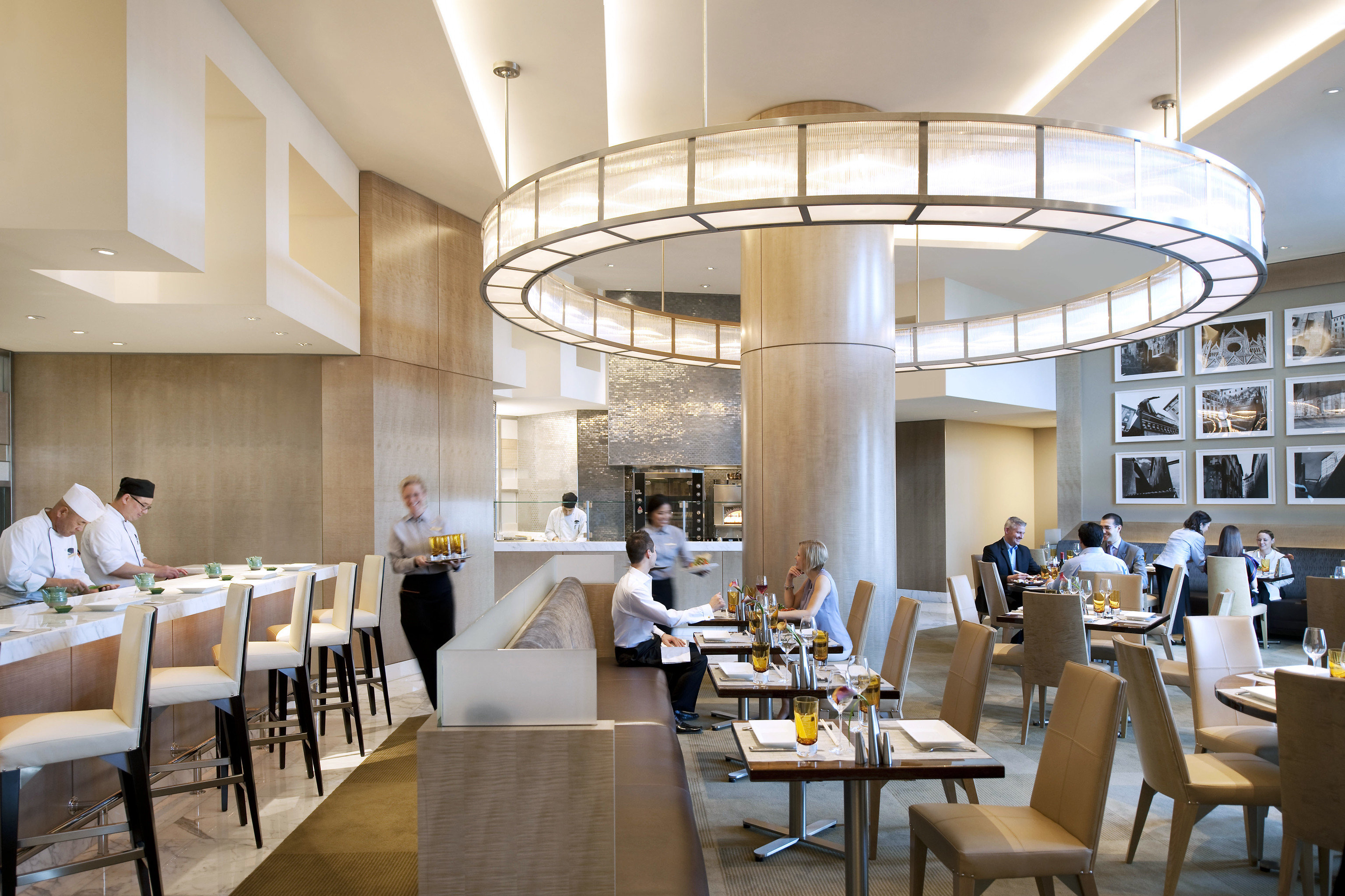 Dining Drink Eat Elegant Luxury Resort Kitchen chair restaurant function hall cafeteria conference hall convention center Island