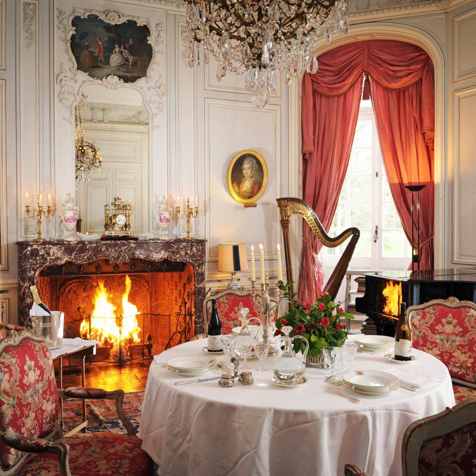 Dining Drink Eat Elegant Fireplace Historic Honeymoon Romance Romantic function hall ceremony ballroom wedding reception restaurant fancy