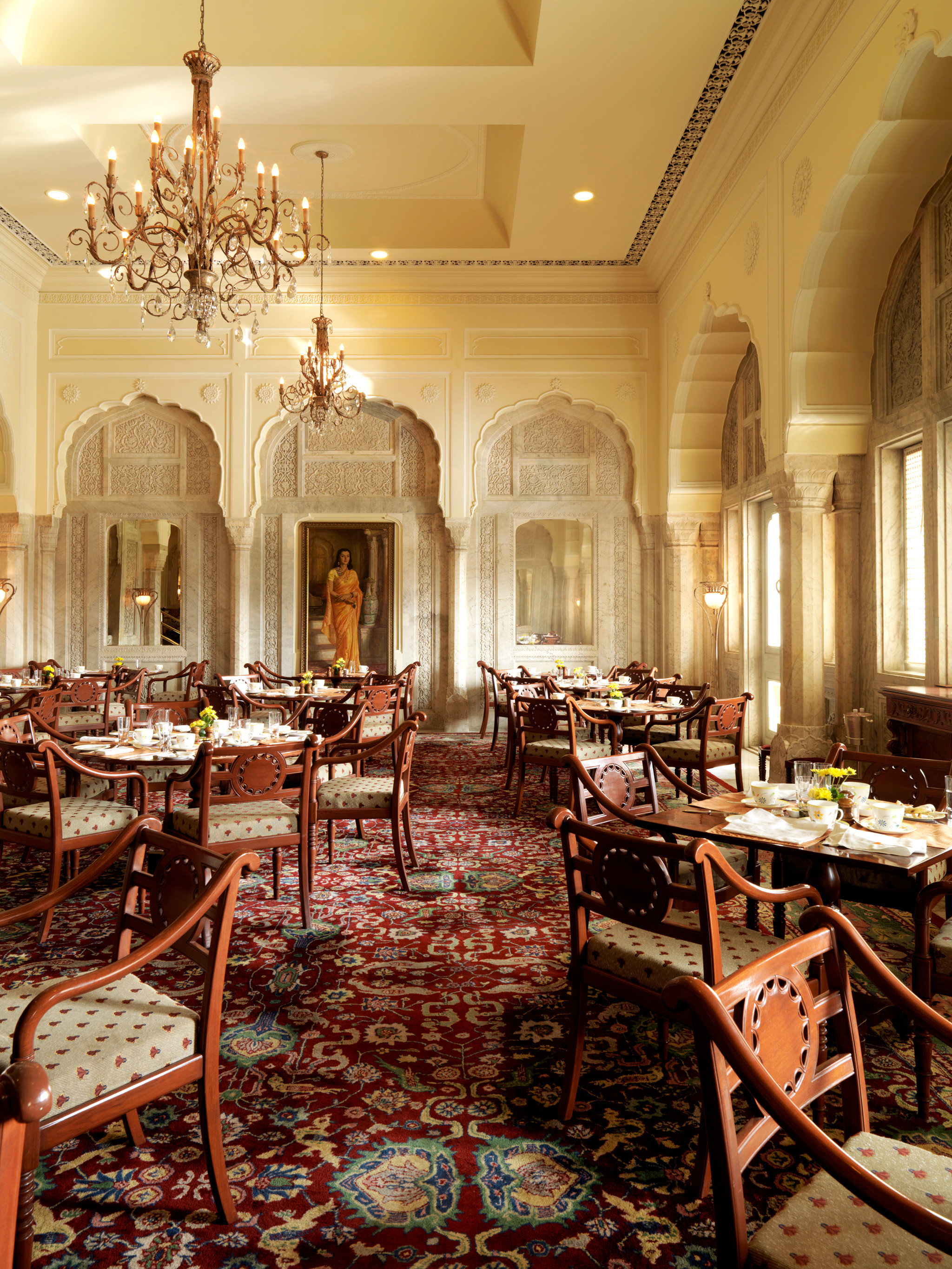 Dining Drink Eat Elegant Luxury Resort chair palace mansion home Lobby function hall ballroom restaurant living room set dining table