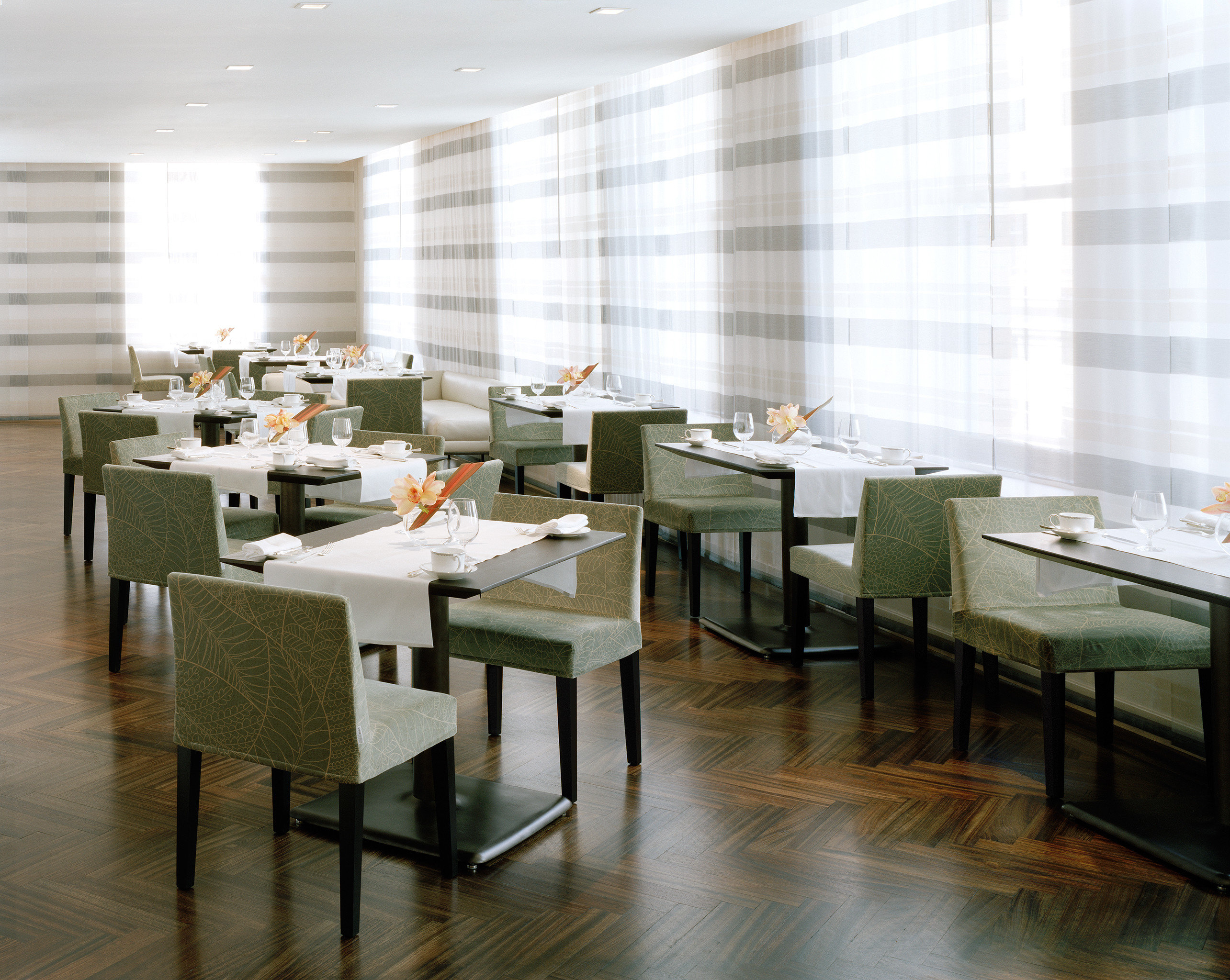 Dining Drink Eat Elegant Lounge Modern restaurant conference hall cafeteria headquarters office flooring