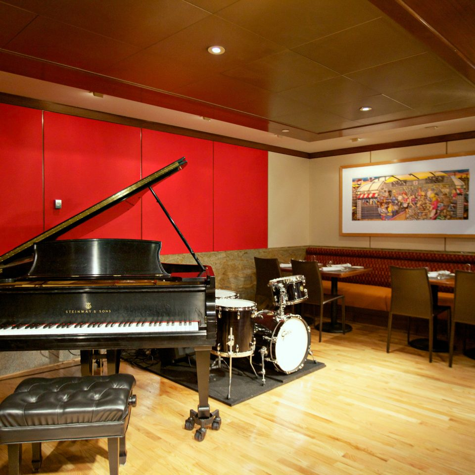 Dining Drink Eat Entertainment recreation room player piano billiard room piano auditorium technology stainless steel