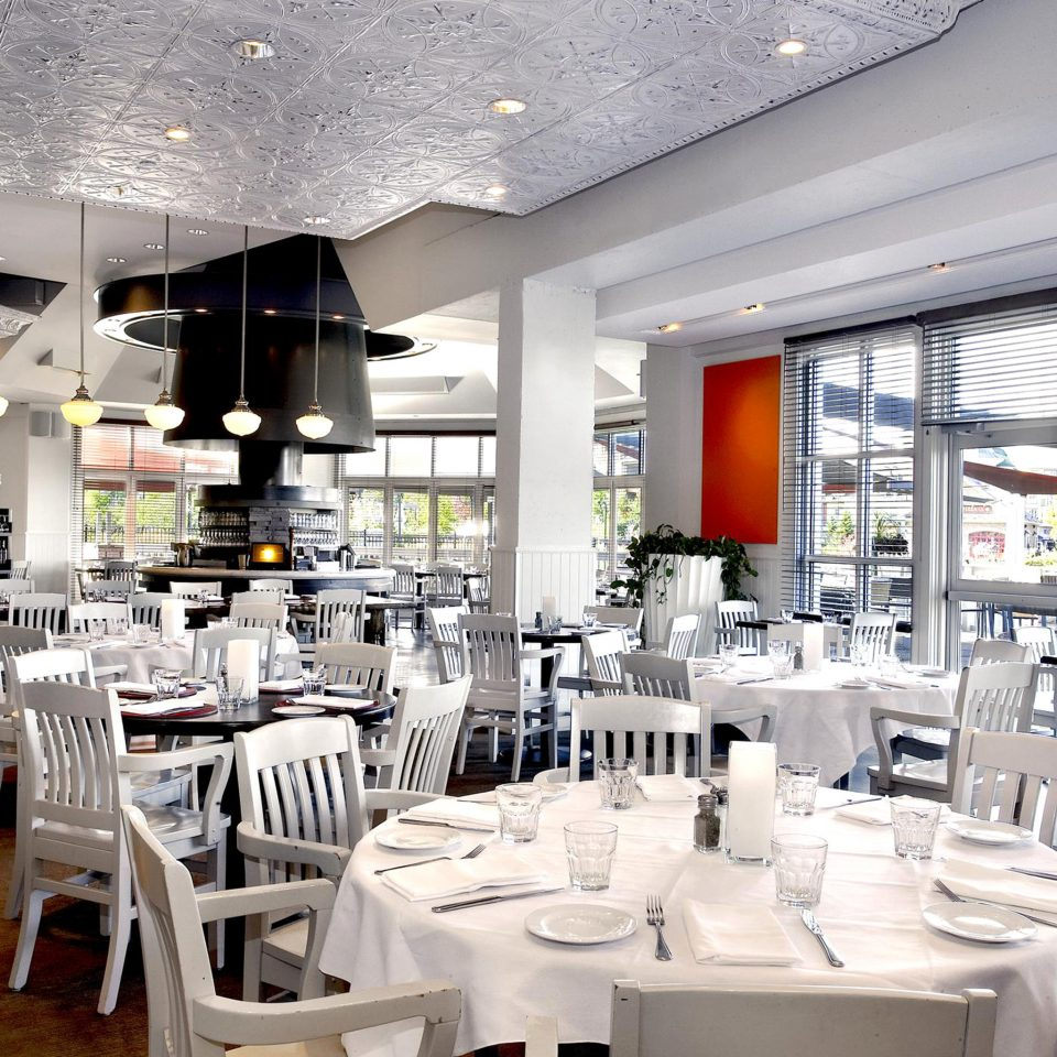 Dining Drink Eat Family Resort chair restaurant function hall white cafeteria convention center dining table
