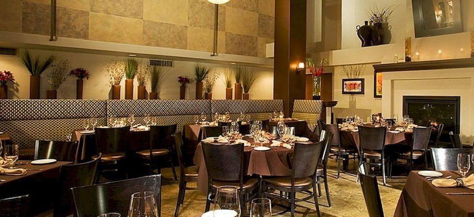 Dining Drink Eat Fireplace Lodge chair restaurant function hall dinner ballroom set