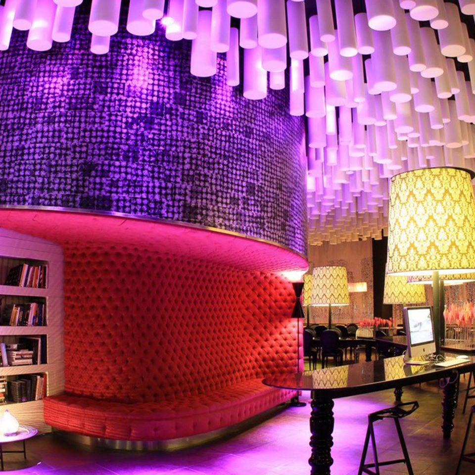 Dining Drink Eat Hip Modern theatre nightclub