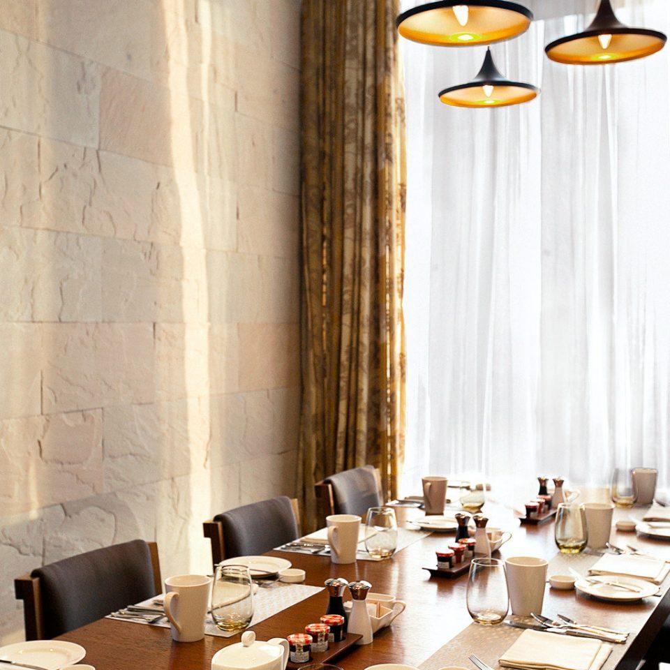 Dining Drink Eat Hip Modern restaurant lighting living room dining table