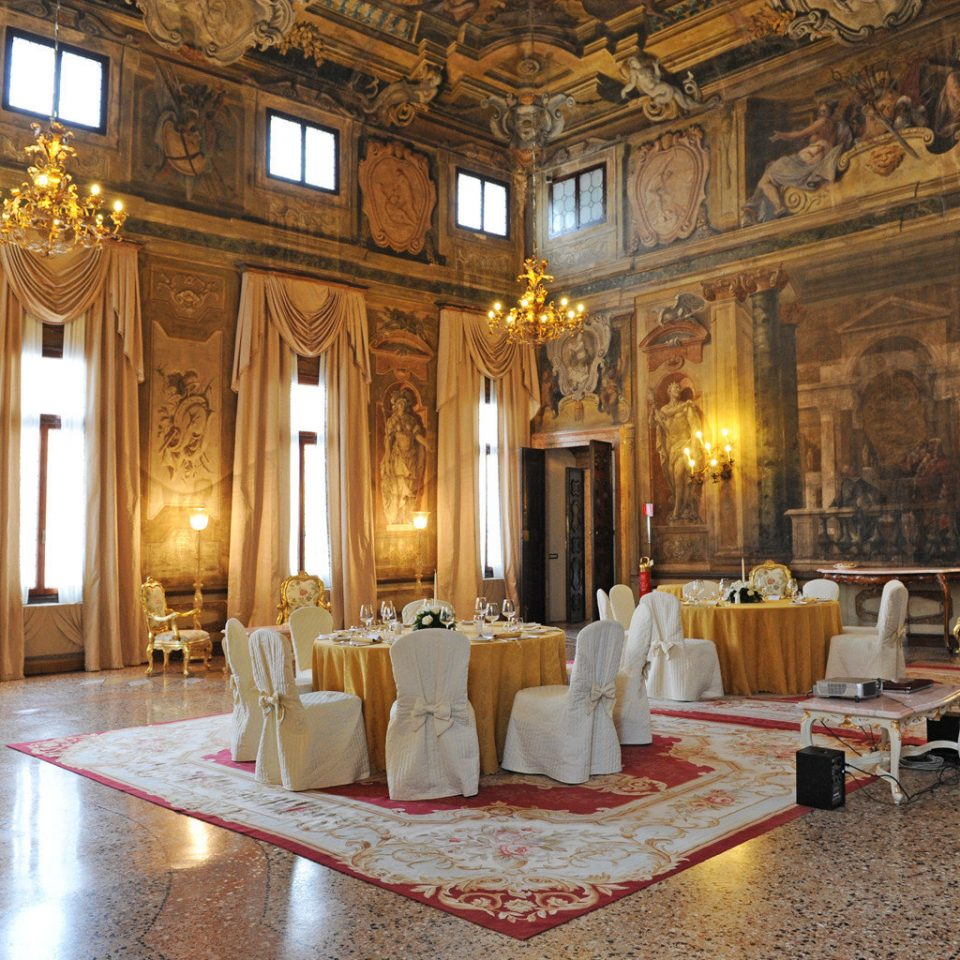 Dining Drink Eat Historic Luxury Romance Lobby palace building function hall ballroom mansion chapel