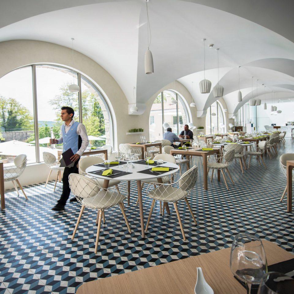 Dining Drink Eat Honeymoon Luxury Modern Romance Wellness chair property restaurant Villa mansion
