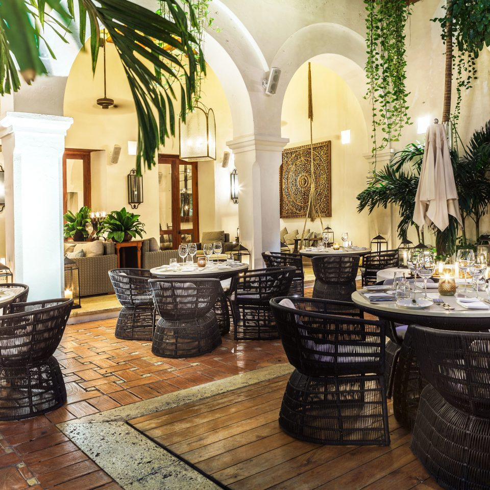 Dining Drink Eat Hotels Luxury Resort Romance Lobby property home mansion living room restaurant Villa stone