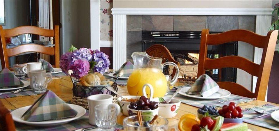 Dining Drink Eat Inn Rustic plate food brunch home cottage breakfast set dinner dining table cluttered