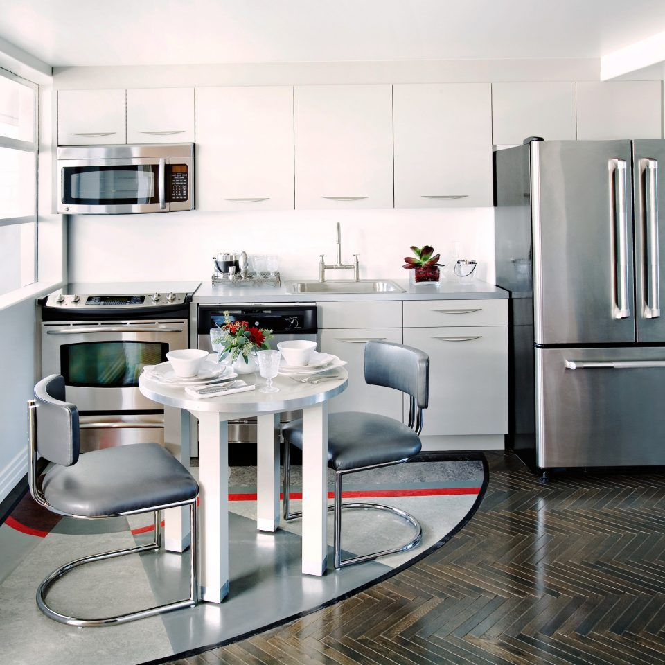 Dining Drink Eat Kitchen property home appliance cabinetry cuisine classique cottage countertop flooring cuisine stainless steel kitchen appliance