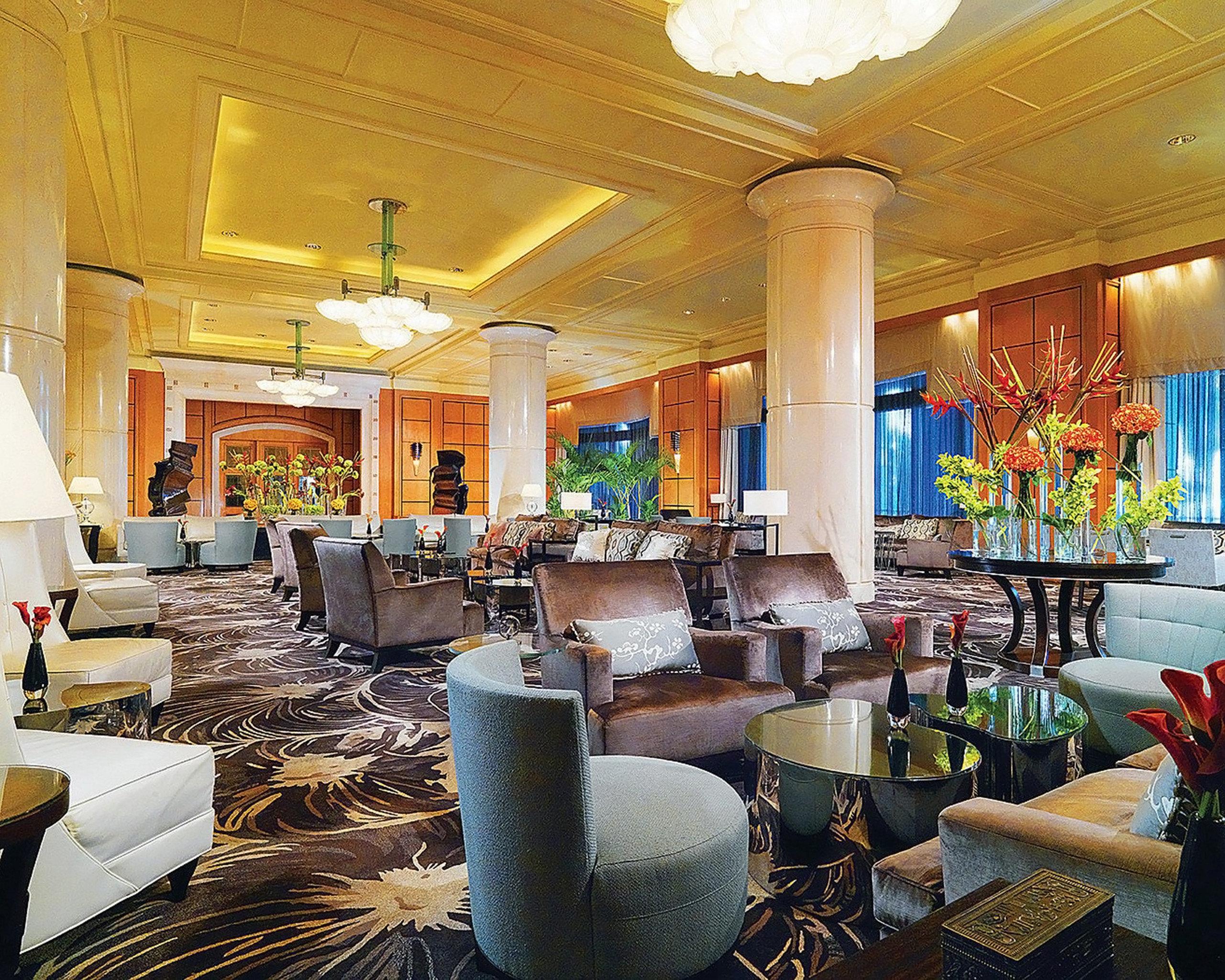 Dining Drink Eat Modern Lobby restaurant home function hall Resort living room