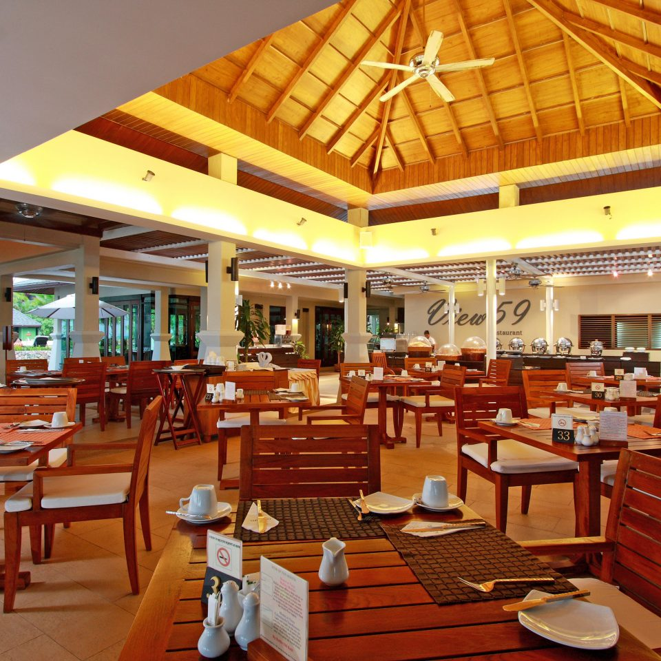 Dining Drink Eat Romantic chair wooden restaurant Resort function hall Lobby café