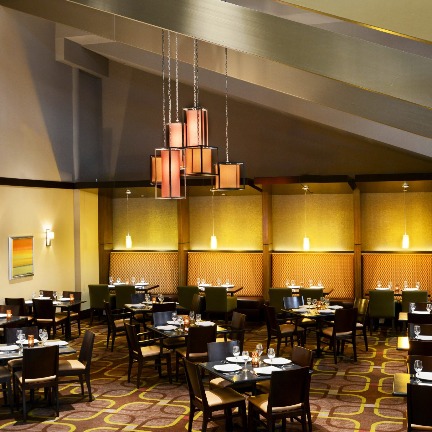 Dining Drink Eat function hall restaurant auditorium conference hall convention center cafeteria café Lobby ballroom