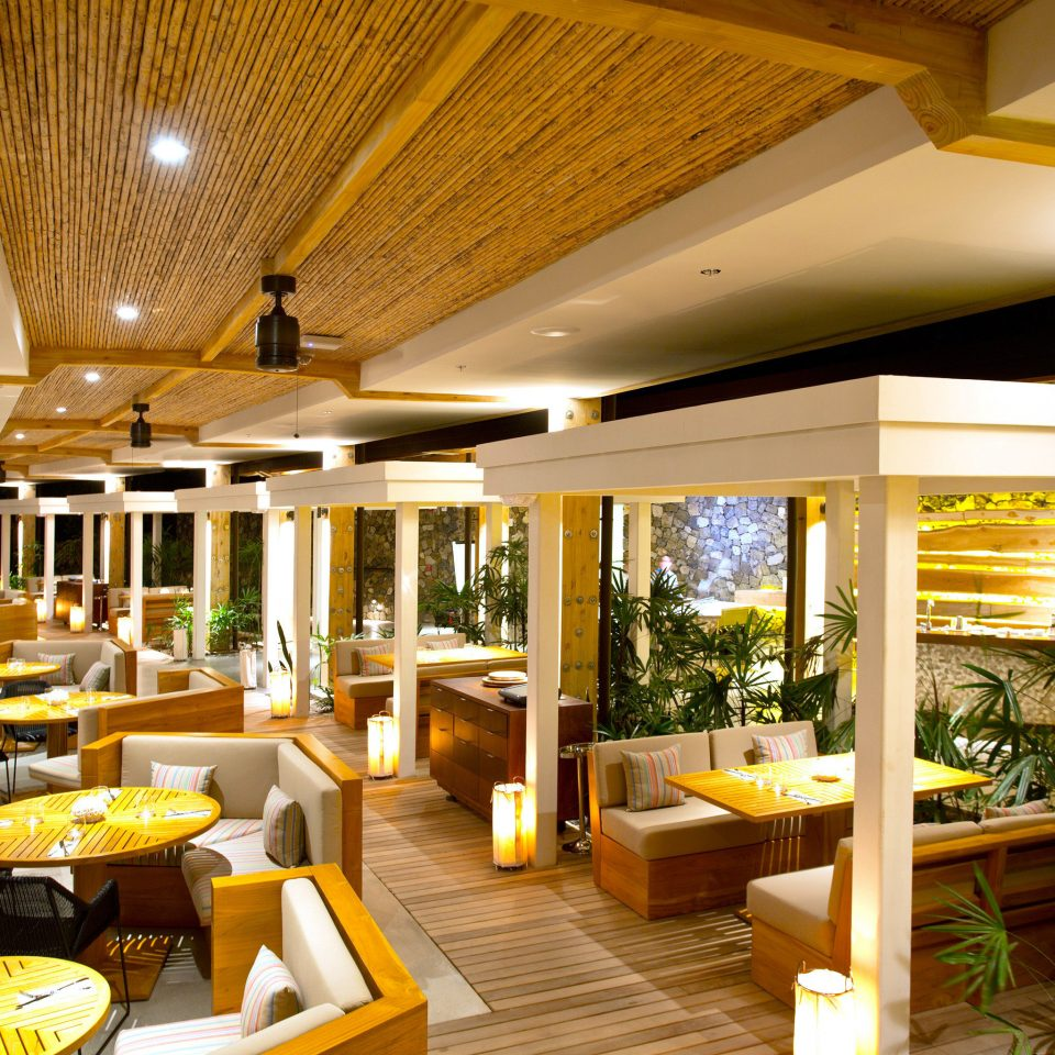Dining Drink Eat Modern Resort property restaurant Lobby home Villa condominium