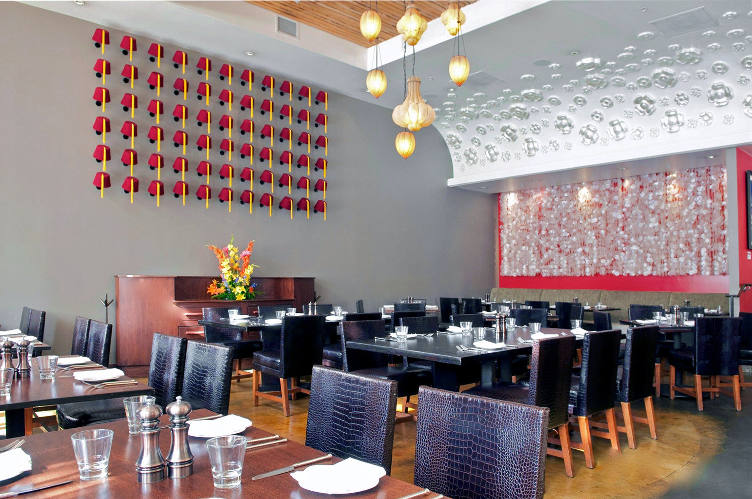 Dining Drink Eat Lounge Modern restaurant function hall conference hall