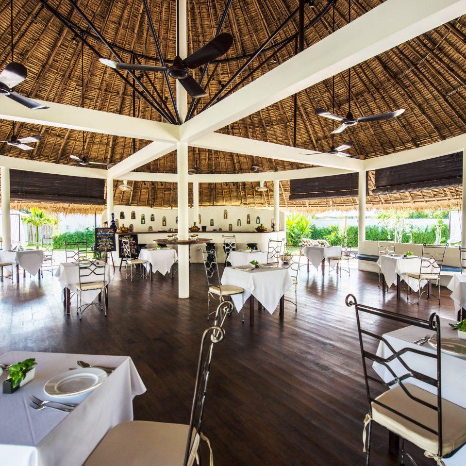 Dining Drink Eat Luxury Resort chair restaurant convention center dock