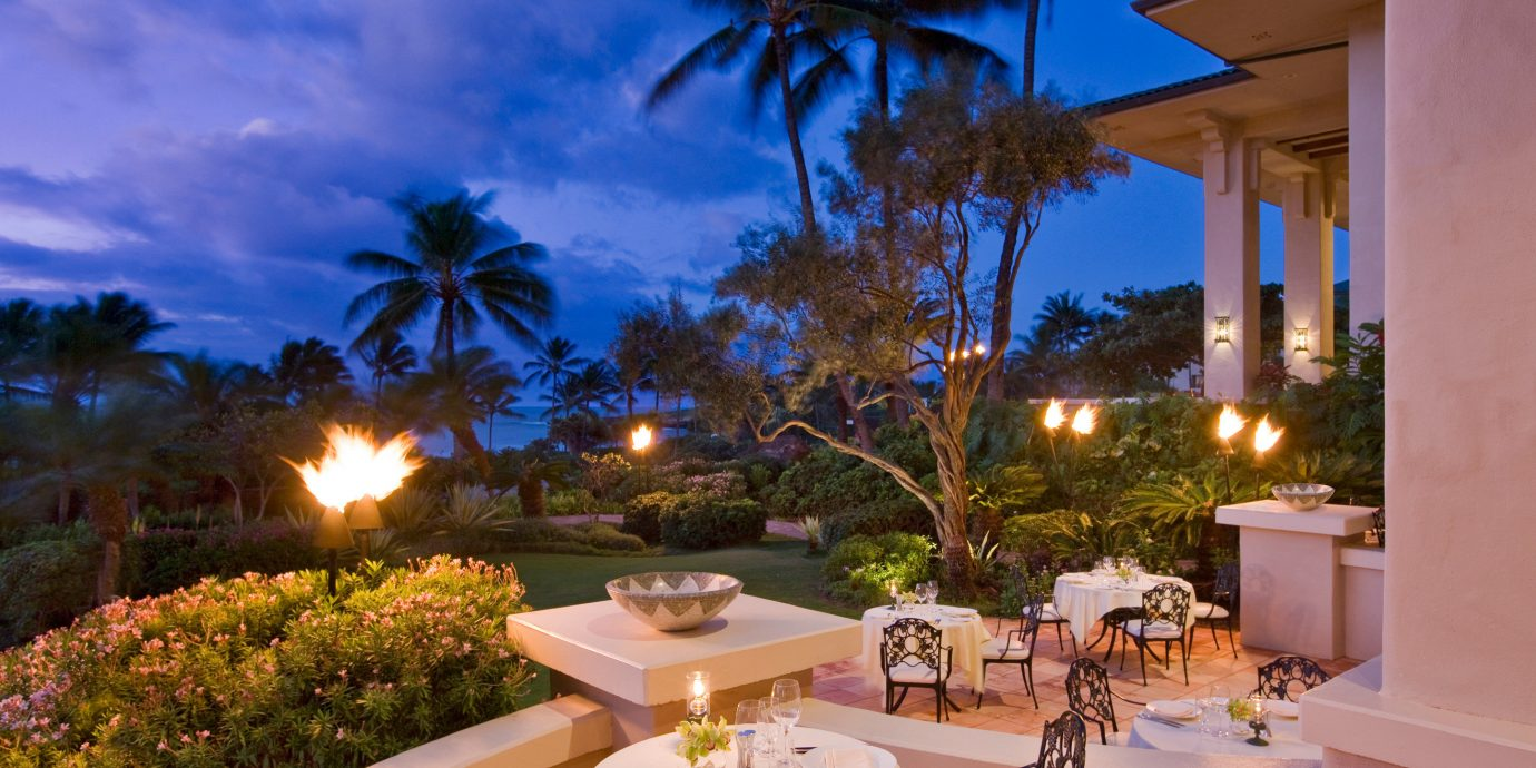 Dining Drink Eat Nightlife Resort Scenic views tree property Villa home caribbean mansion