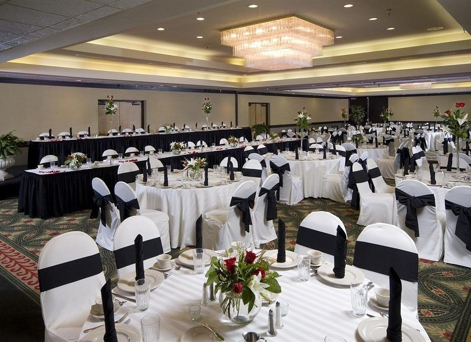 Dining Drink Eat function hall banquet wedding ceremony wedding reception Party ballroom event restaurant conference hall convention center arranged
