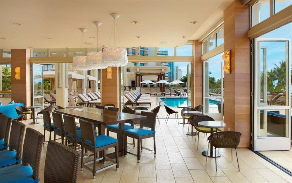 Dining Drink Eat Play Pool Resort chair property condominium restaurant living room