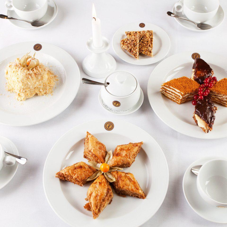 Dining Drink Eat Resort plate food breakfast dessert cuisine brunch flavor baking coconut set arranged dining table