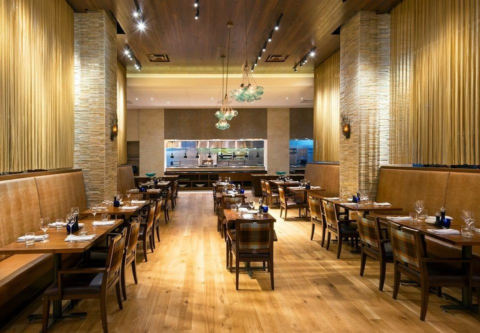 Dining Drink Eat Resort conference hall function hall auditorium restaurant wooden convention center cafeteria ballroom