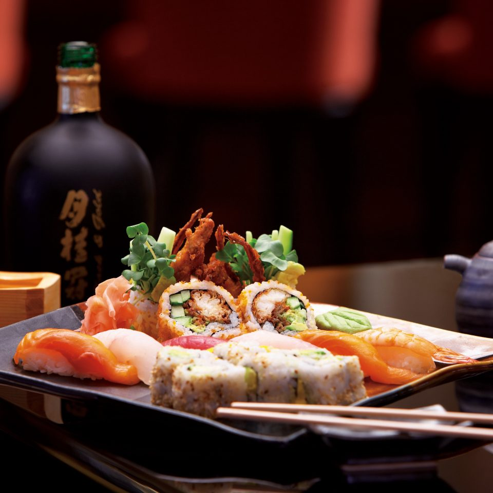 Dining Drink Eat food plate cuisine restaurant asian food Seafood sense dinner