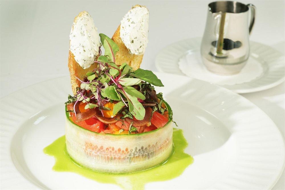 Dining Eat plate food hors d oeuvre cuisine salad breakfast culinary art lunch arranged fresh piece de resistance