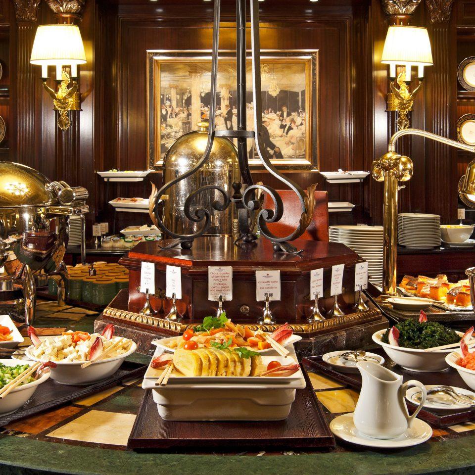 Dining Eat plate buffet food restaurant
