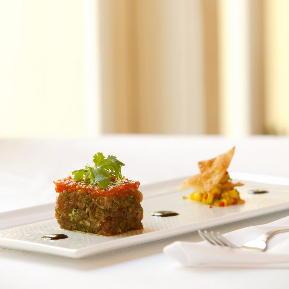 Dining Eat Eco Luxury Resort plate food cuisine white breakfast piece de resistance