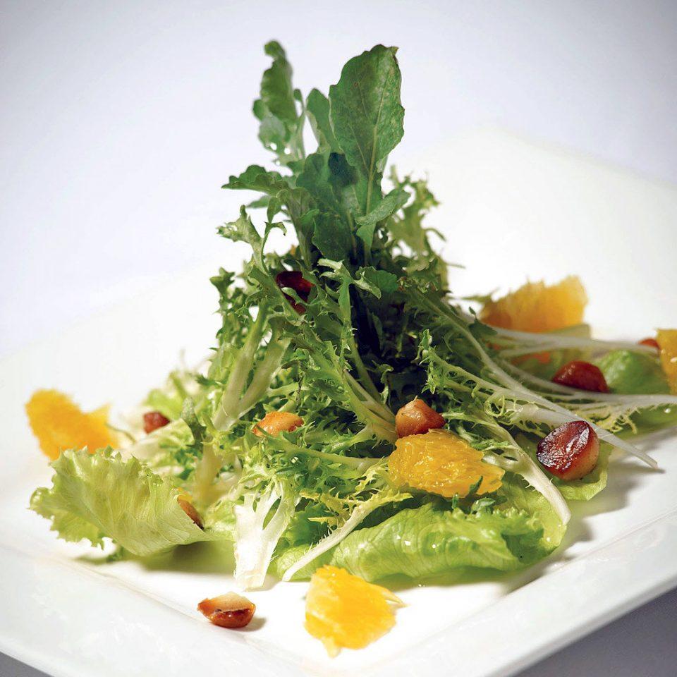 Dining Eat Eco Wellness food plate salad vegetable leaf vegetable white herb square fresh