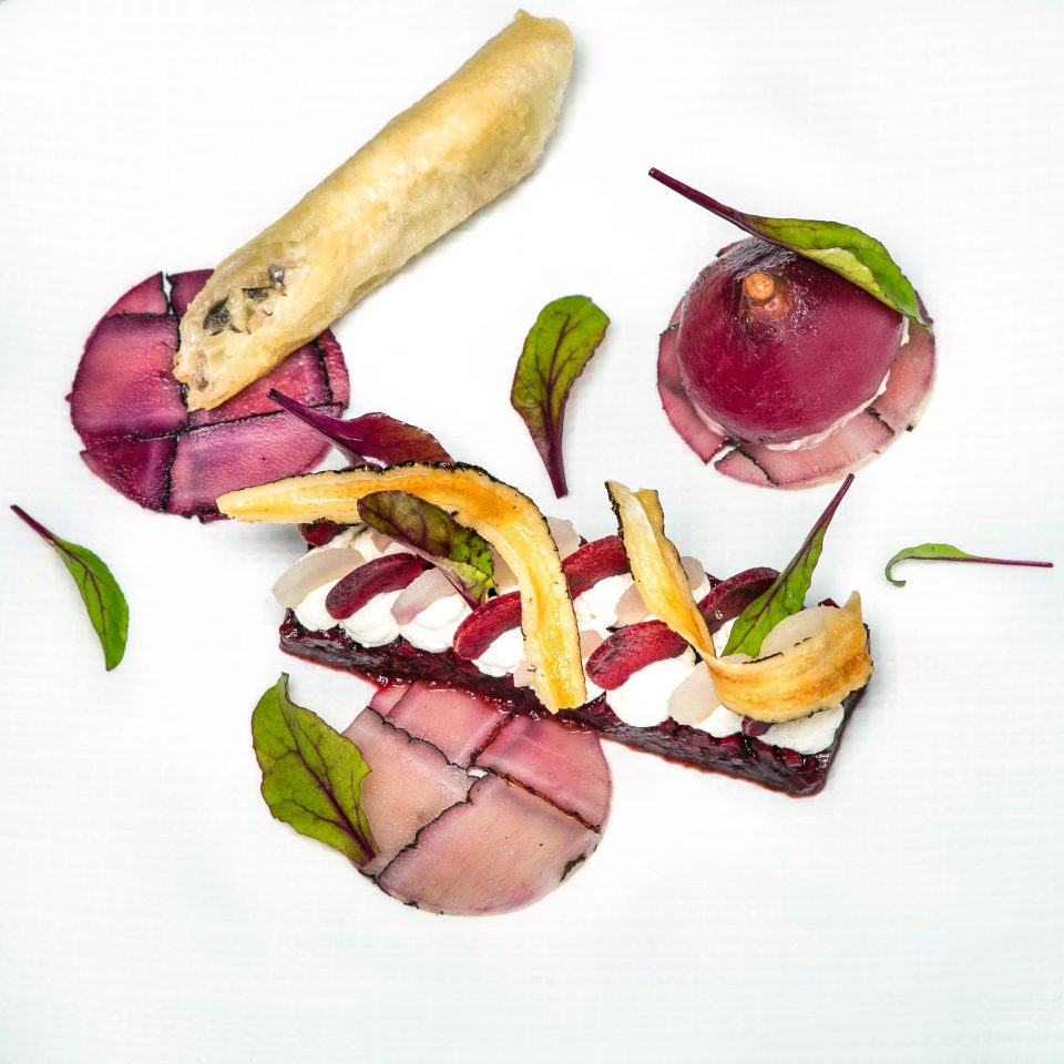 Dining Eat Luxury food plate vegetable meat salt cured meat cuisine prosciutto radish containing arranged