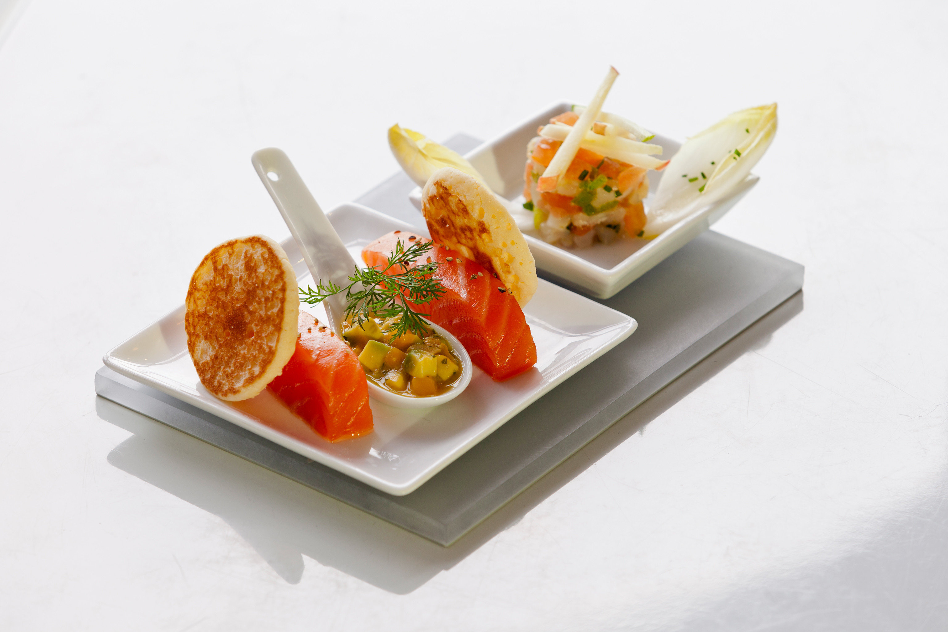 Dining Eat Resort food cuisine hors d oeuvre fish asian food pincho