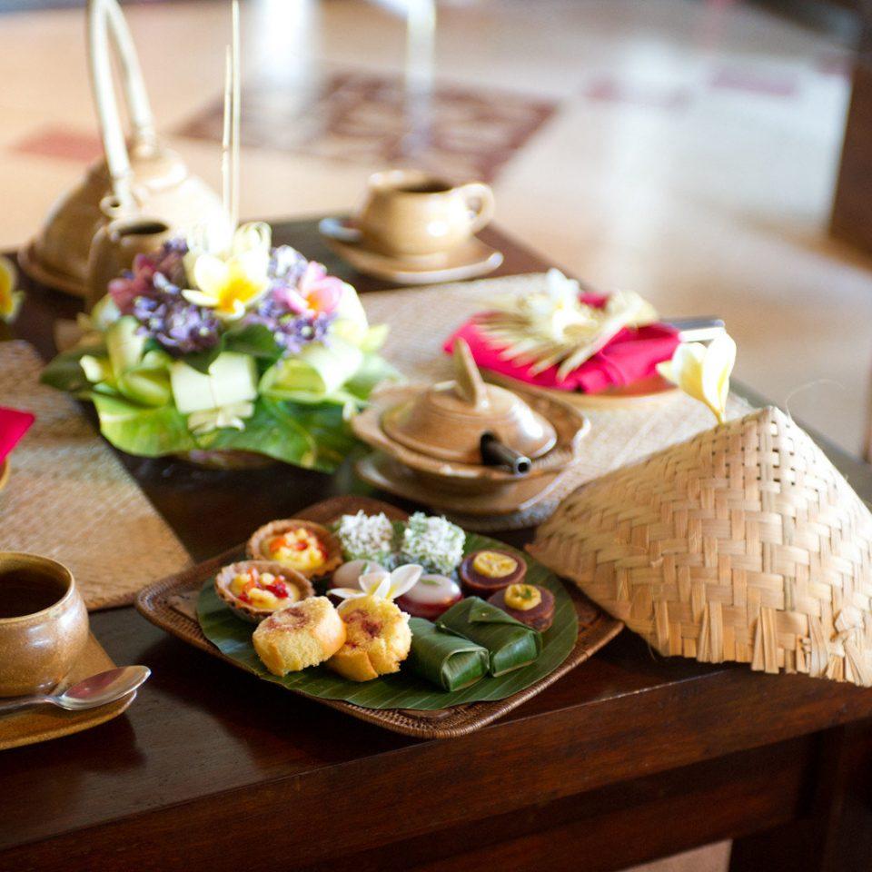 Dining Eat Trip Ideas Tropical wooden lunch brunch food restaurant breakfast dinner cuisine buffet dining table